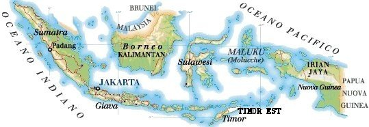 Cartina Indonesia Politica.Mappa Indonesia Cartina