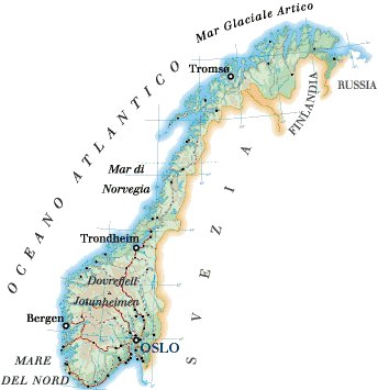 Cartina Geografica Norvegia Fisica.Il Grande Nord Lessons Blendspace